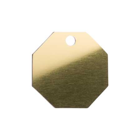 Medaglietta-Incisa-Basic-Ottagono-Oro-Lucido-min