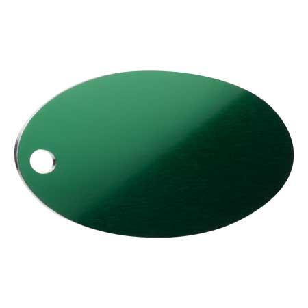 Medaglietta-Incisa-Basic-Ovale-Verde-Lucido-min