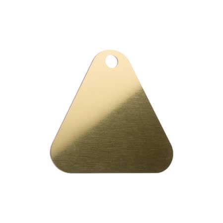 Medaglietta-Incisa-Basic-Triangolo-Oro-Lucido