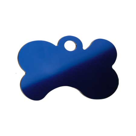 Medaglietta-Incisa-Luxury-Osso-Stilizzato-Blue-Lucido-Retro