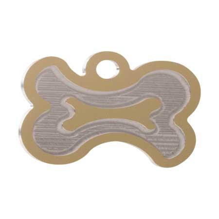 Medaglietta-Incisa-Luxury-Osso-Stilizzato-Oro-Lucido